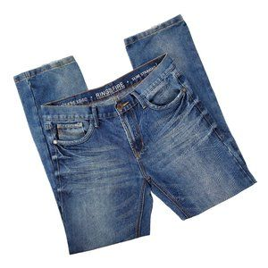Ring of Fire Slim Straight Cut Jeans size 33x32